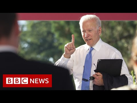 Biden lashes out at CNN reporter over Putin comments – BBC News