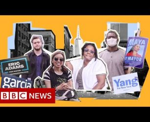 What New York voters want from a new mayor - BBC News
