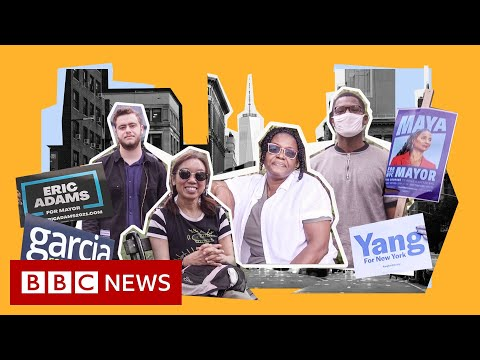 What New York voters want from a new mayor – BBC News