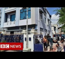 Myanmar army clashes with anti-coup militia – BBC News
