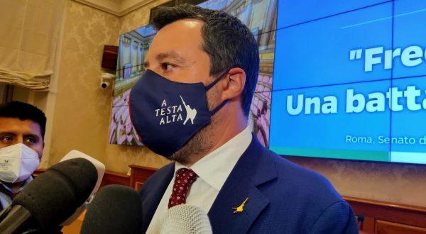 """Salvini """"La federazione di centrodestra un servizio al Paese"""""""