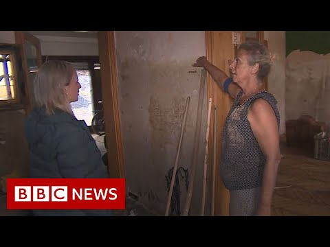 Inside one flood-wrecked house in Germany as people begin to rebuild – BBC News