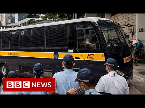 Hong Kong man first to be jailed under national security law – BBC News