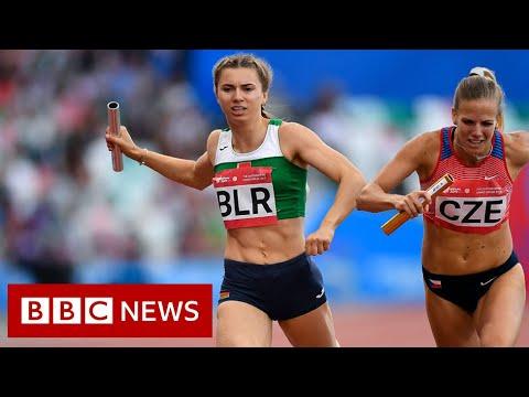 Belarus sprinter given Polish humanitarian visa – BBC News
