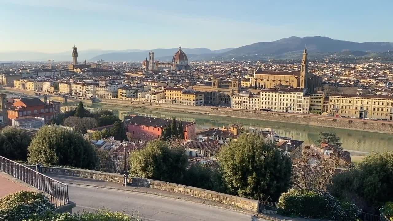 Crollo presenze turistiche in Toscana nel 2020