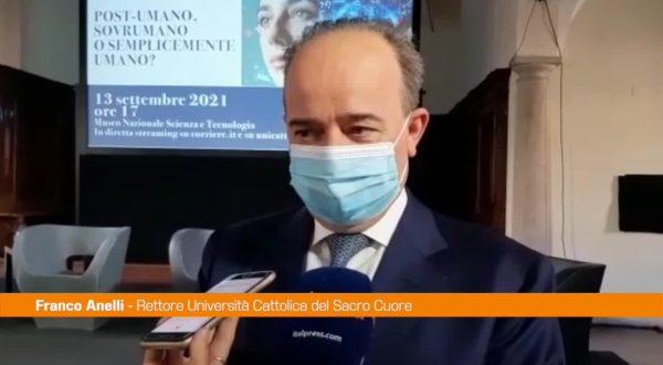 """Università, Anelli: """"L'attività torna a pieno regime in presenza"""""""