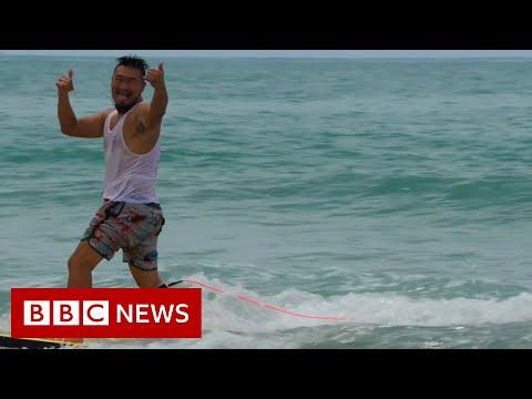 China's coronavirus-fuelled surfing boom – BBC News