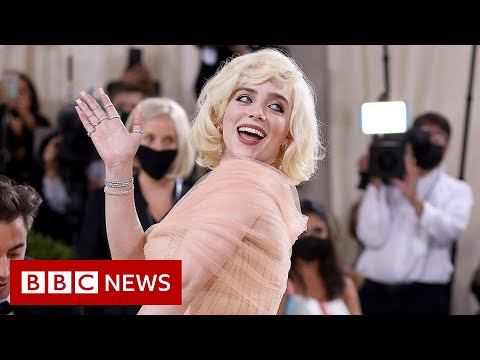 Star-spangled celebrities welcome back Met Gala – BBC News