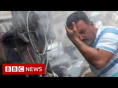 World now sees twice as many days over 50C – BBC News
