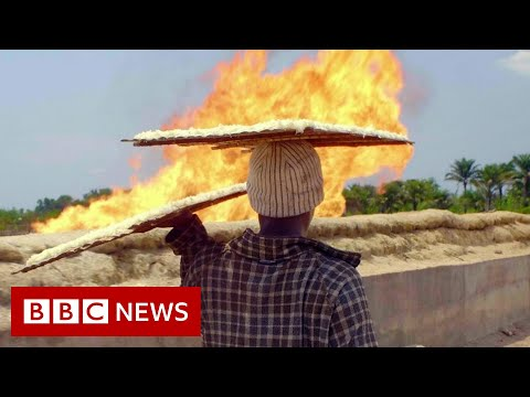 The toxic gas flares fuelling Nigeria's climate change – BBC News