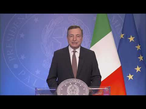 """Intervento del Presidente Draghi all'evento """"The Global Fund at 20: Changing the Story"""""""