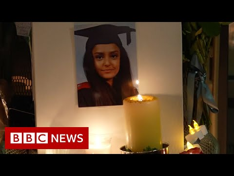 Tributes to Sabina Nessa at London vigil – BBC News