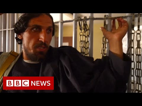 The prison staffed by inmates released by the Taliban - BBC News
