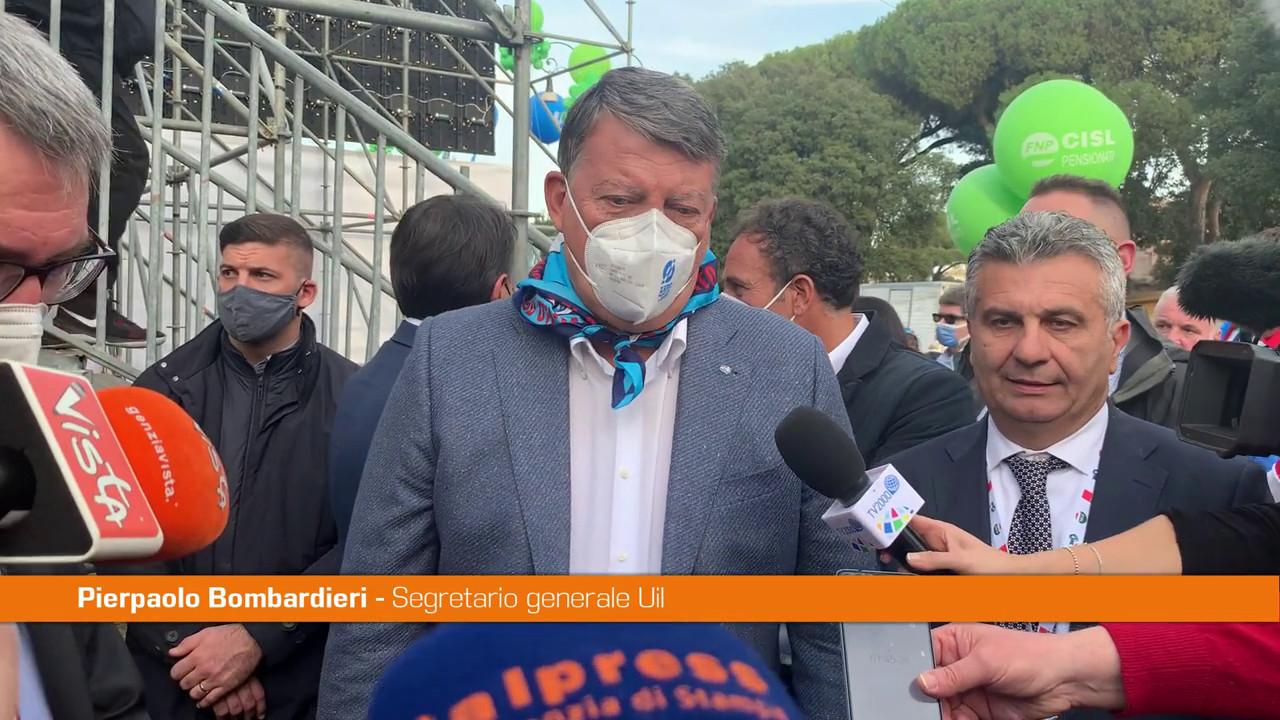 """Manifestazione antifascista, Bombardieri: """"Piazza chiede cambiamenti"""""""