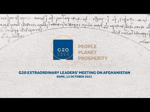 #G20 straordinario sull'Afghanistan, conferenza stampa del Presidente Draghi