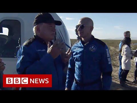 "Star Trek's William Shatner on ""unbelievable"" experience in Space – BBC News"